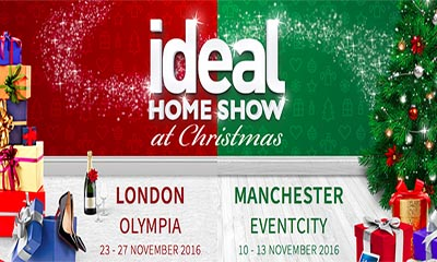 Free Ideal Home Show Christmas 2016 Tickets
