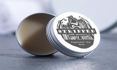 Free Natural Peppermint Lip Balm