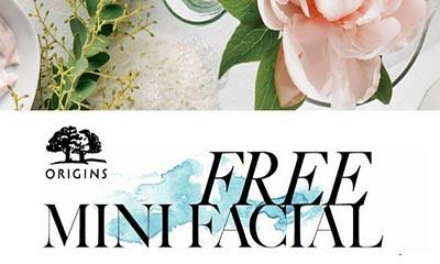 Free Origins Feel-Good Mini Facial