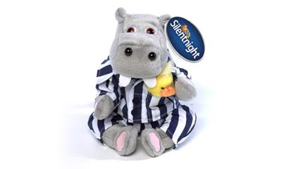 Free Silent Night Hippo Toy