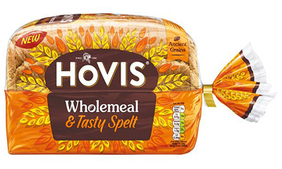 Free Loaf of Hovis Wholemeal & Tasty Bread