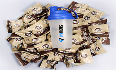 Free Pack of Brownie Balls & Shaker Bottle