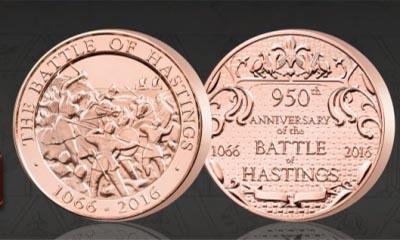 Free Battle of Hastings Medal