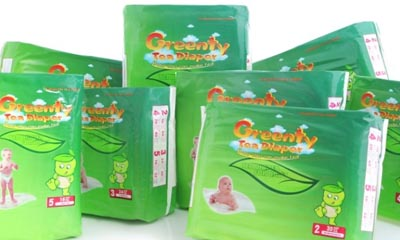 Free Green Tea Nappies