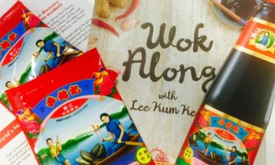 Free Lee Kum Kee Oyster Sauce & Recipe Book