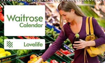 Free 2017 Calendar from Waitrose
