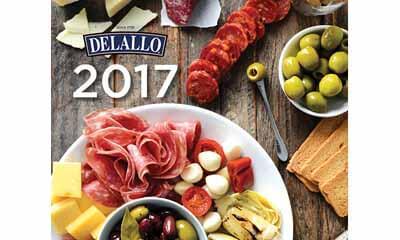 Free DeLallo 2017 Calendar