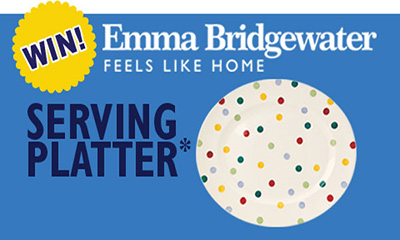 Free Emma Bridgewater Polka Dot Platter