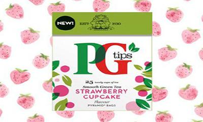Free PG Tips Strawberry Cupcake Tea