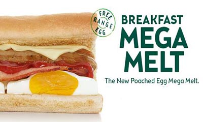 99p Subway Breakfast Subs – Usually £2.80