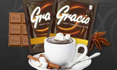 Free Gracio Hot Chocolate
