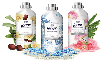 150 bottles of Lenor to giveaway!