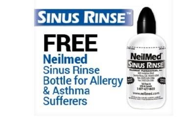Free NeilMed Sinus Rinse Bottle Kit