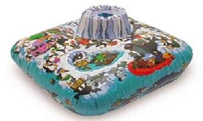 Free Penguin Island Bathbuoy