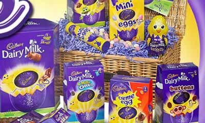 Free Cadbury Chocolate Easter Hamper