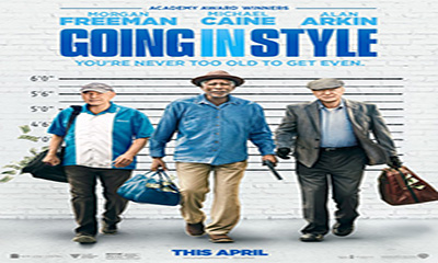 Free Cinema Tickets To See Going in Style