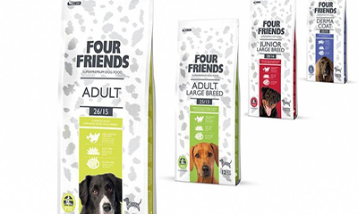 Free Four Friends Pet Food