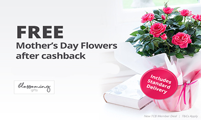 Free Mother's Day Flowers Worth £18 + Free Delivery