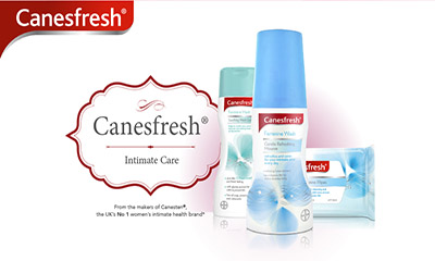 Free Canesfresh Intimate Washes and Wipes