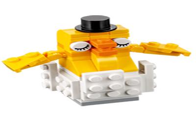 Free LEGO Mini Build Chicken Toy