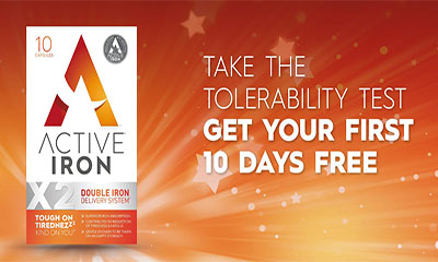 Free Pack of Active Iron Tablets