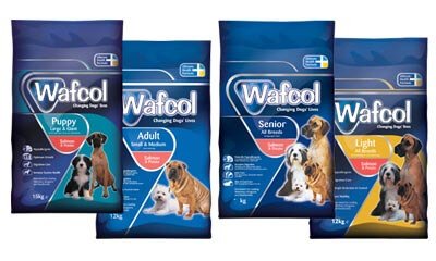 Free Pack of Wafcol Dog Food