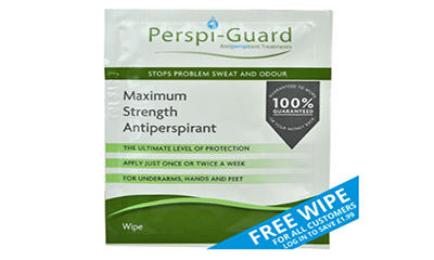 Free Antiperspirant Wipes