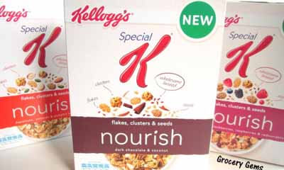 Free Box of Free Kellogg's Special K Nourish Cereal