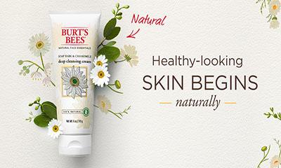 Free Burt's Bees Deep Cleansing Cream
