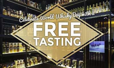 Free Dram of Shackleton Whisky