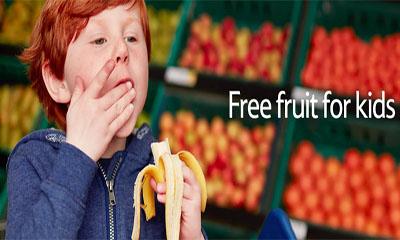 Free Fruit For Kids at Tesco