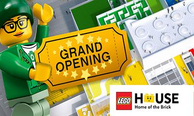 Free LEGO House Family Ticket