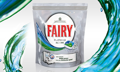 Free Fairy Platinum Dishwasher Tablets