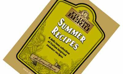Free Filippo Berio Recipe Booklets