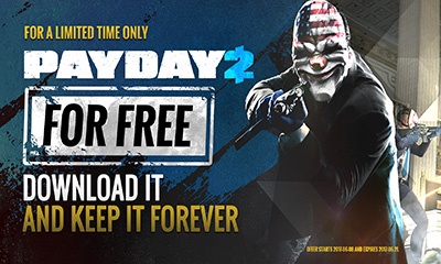 Free PAYDAY 2 Game