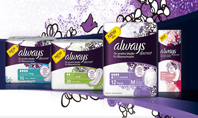 Free Pack of Always Discreet