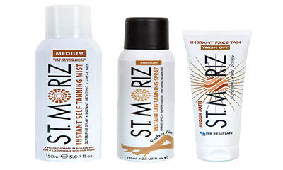 Free St. Moriz Tanning Products