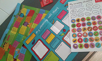 Free Weaning Wall Chart & Stickers