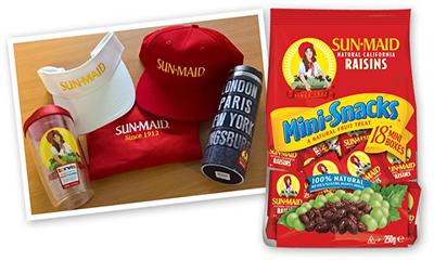 Win a Goody Bag from Sun-Maid Raisins