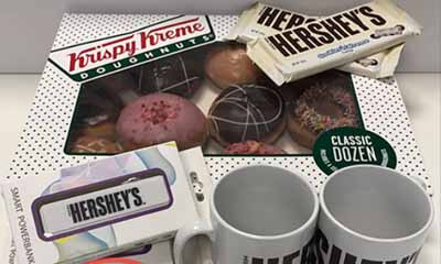 Win a KrispyKreme & Hershey's Chocolate Bundle