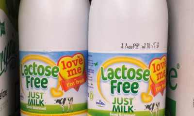 Free Bottle of Lactose Free Just Milk