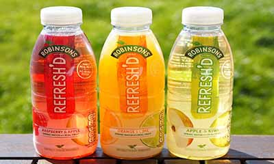 Free Bottle of Robinsons Refresh'd