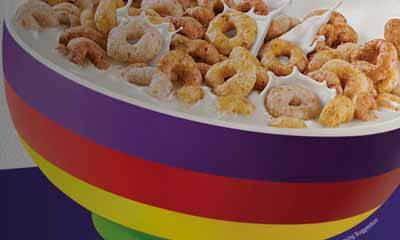 Free Cheerios Rainbow Bowls