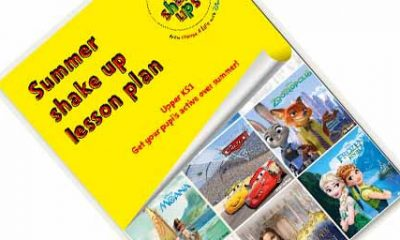 Free Children's Summer Shake Up Lesson Plans
