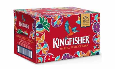 Free Crates of Kingfisher Beer