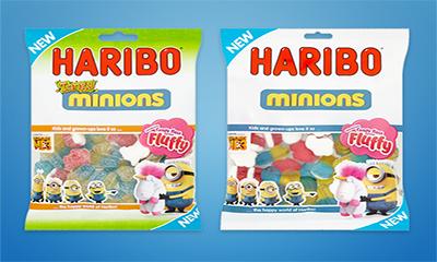 Free Haribo Minions Bag