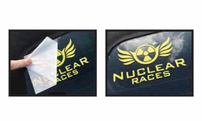 Free Nuclear Races Stickers