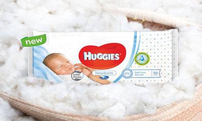 Free Pack of Huggies Baby Wipes
