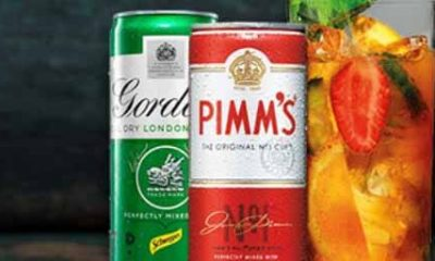 Free Pimms or Gordons Dry Gin Mixed Drinks