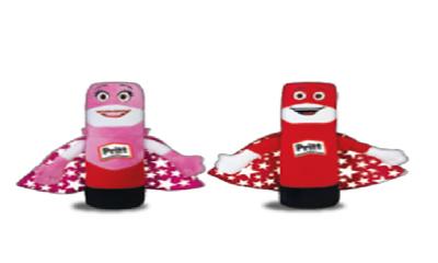 Free Pritt Stick Soft Toys